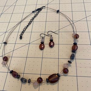 Charming Charlie Necklace and Earrings